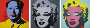 Andy Warhol mao marilyn