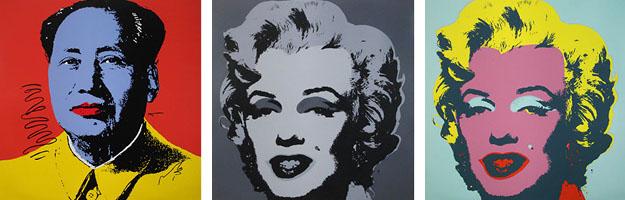 Andy Warhol mao marilyn